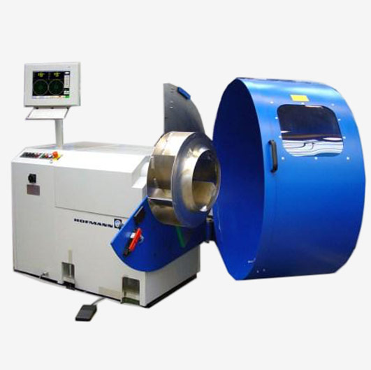 Balancing machines for fans, blowers and pumps from Hofmann